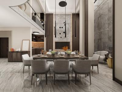 盘锦爱顿国际600平新装饰主义风格